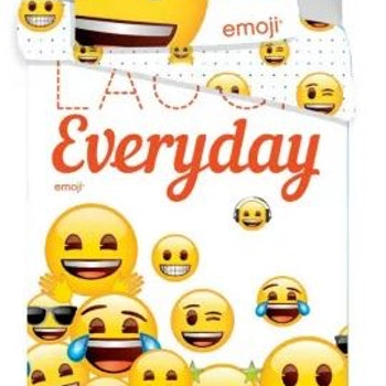 Emoji sänglinne 140 × 200 cm, 70 × 90 cm