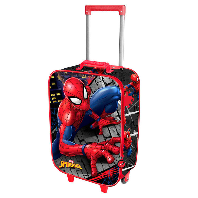 Resväska Spiderman 3D - 47CM - BESTÄLLNINGSVARA