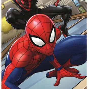 Spiderman badlakan - 2 Varianter - Bomull - BESTÄLLNINGSVARA