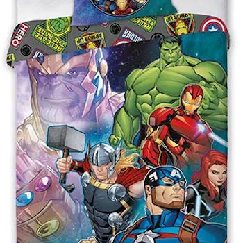 Avengers bäddset vuxensäng - 3 varianter - BESTÄLLNINGSVARA