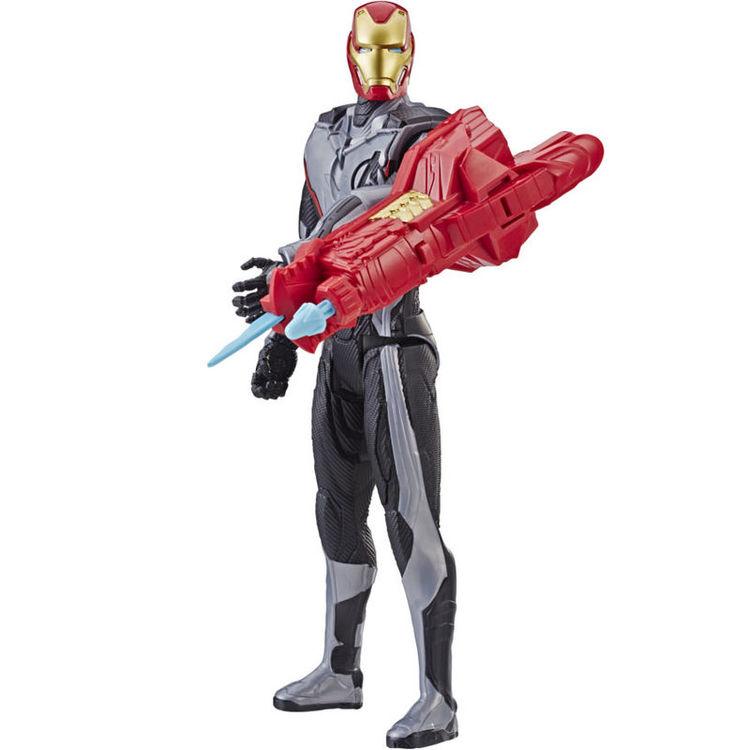 Marvel Avengers Iron Man Titan Hero Power figur 30cm