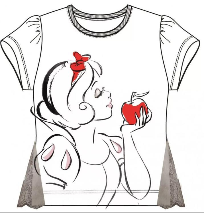 Disney Princess T-shirt   3-8 år   BESTÄLLNINGSVARA