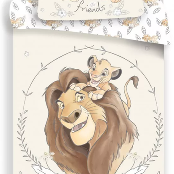 Lejonkungen bäddset för vuxensäng - BESTÄLLNINGSVARA