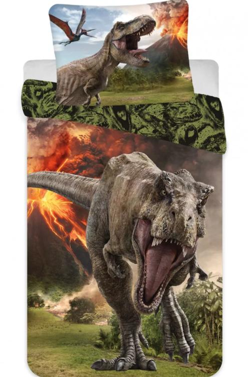 Jurassic Park bäddset för vuxensäng - BESTÄLLNINGSVARA