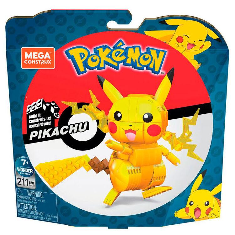 Pokemon Pikachu Mega Contrux set 211 delar| BESTÄLLNINGSVARA