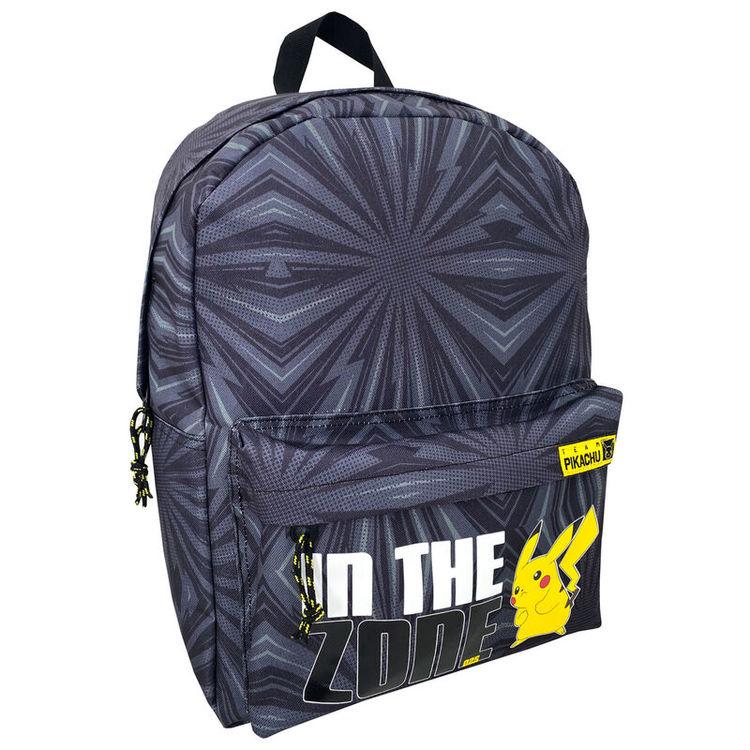 Pokemon Pikachu anpassningsbar ryggsäck 40 cm - BESTÄLLNINGSVARA