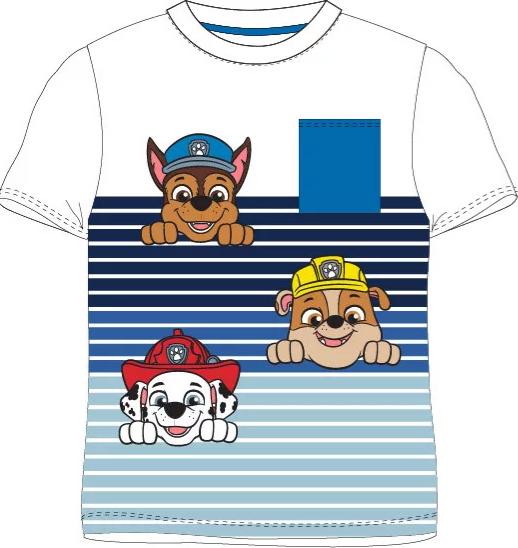 Paw Patrol T-shirt randig | Storlekar 98-128 | BESTÄLLNINGSVARA