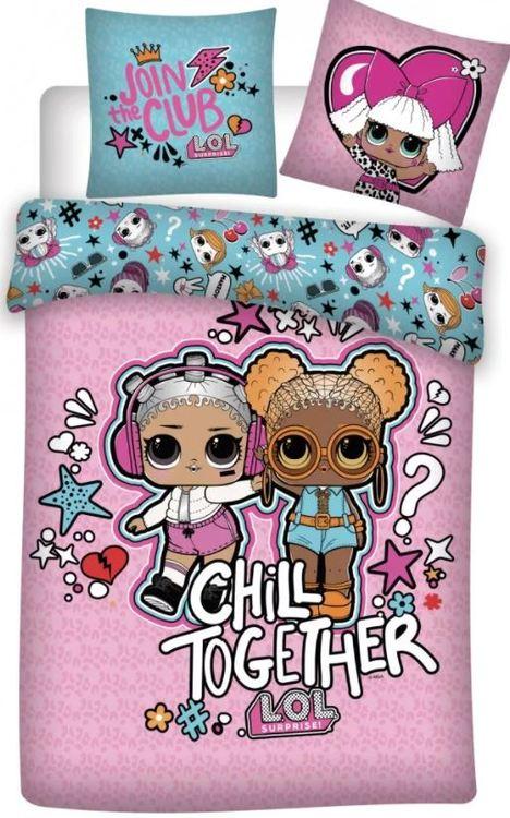 LoL Surprise - Sängkläder för vuxensäng - 3 varianter - BESTÄLLNINGSVARA