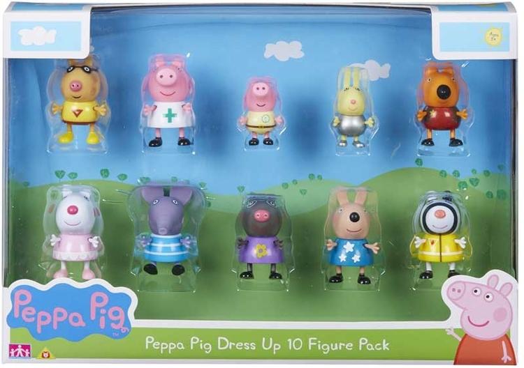 Peppa Pig 10 figure set - BESTÄLLNINGSVARA