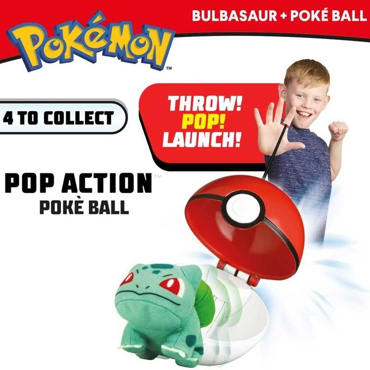 Bulbasaur Poke Ball Action - BESTÄLLNINGSVARA