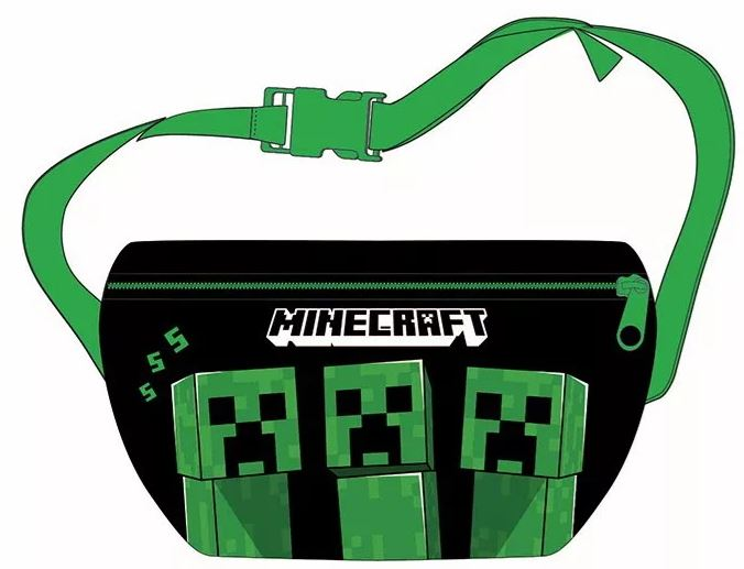 Minecraft | MIDJE/AXELVÄSKA 22cm | 2VARIANTER | BESTÄLLNINGSVARA