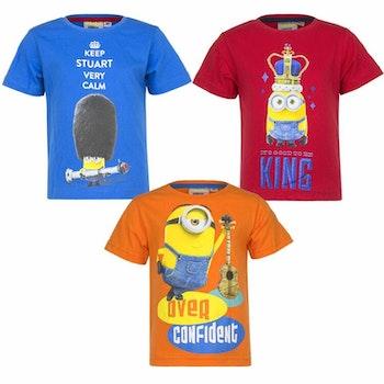 Minions T-shirt - BESTÄLLNINGSVARA