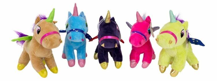 Unicorn nallar - 5 Varianter - Beställningsvara