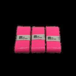 Padelgrepp.se Grepplinda 3-pack - ROSA