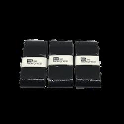 Padelgrepp.se Grepplinda 3-pack - SVART