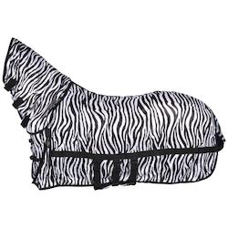 Flugtäcke med combohals-Zebra
