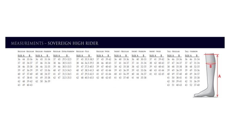 Sovereign High Rider (Svart)