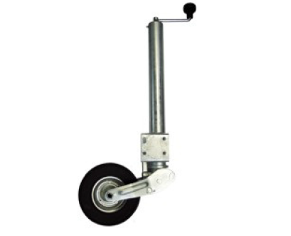 Jockey wheel automatic with wide wheel