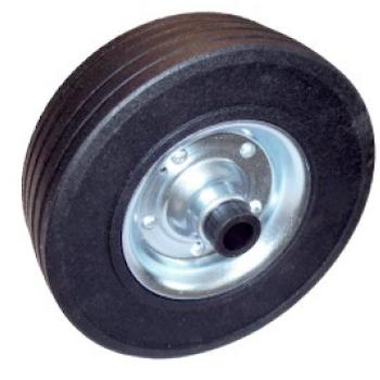 Spare wheel for automatic jockey wheel