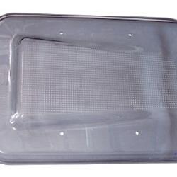 Securit window glass corrugated finish
