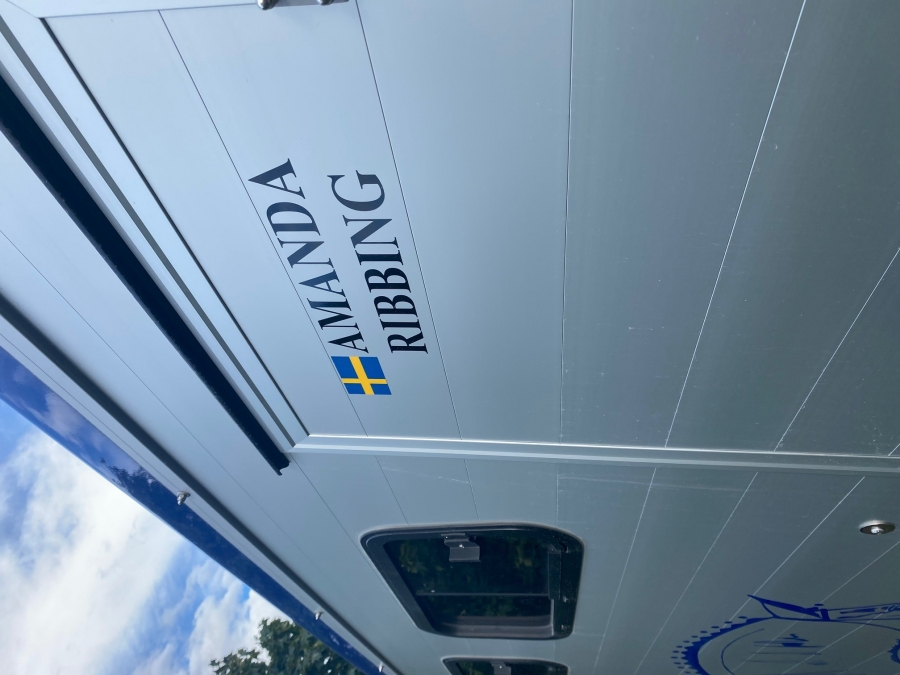 Namn Foliering inkl. Svensk Flaggacta image