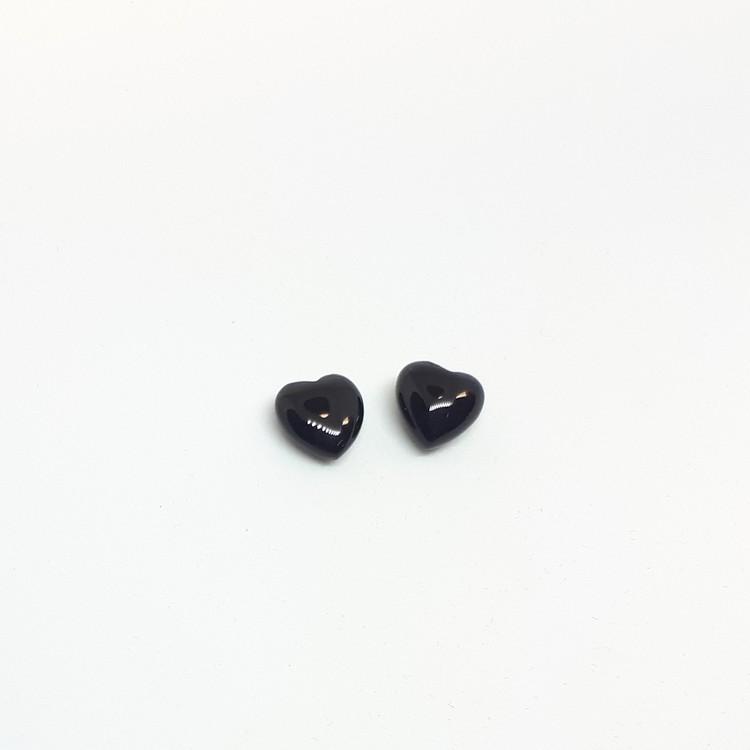 Onyx, litet hjärta 6 mm