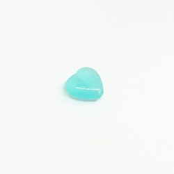 Agat, hjärta, infärgad 11x12 mm, pris/st!