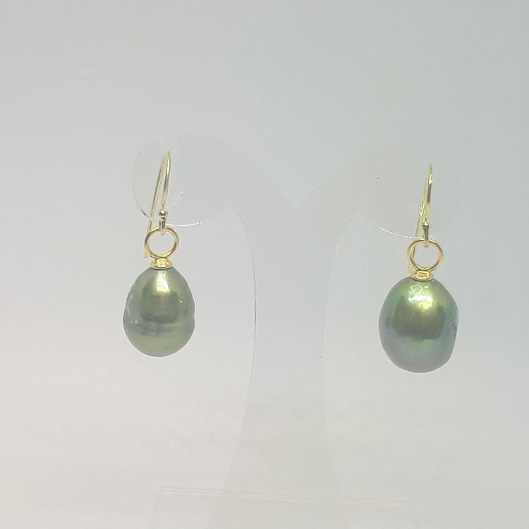 Stor grön pärla