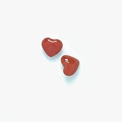 Korall hjärta 8 mm