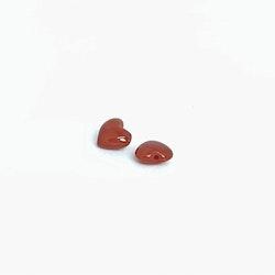 Korall hjärta 6 mm