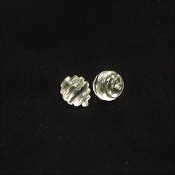 Bergskristall spiralslipad 10 mm