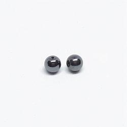 Hematit, rund boll 6 mm