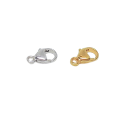 Silverlås karbinhake 8 mm