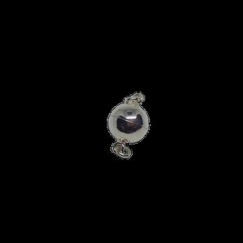 Magnetlås silver 8 mm