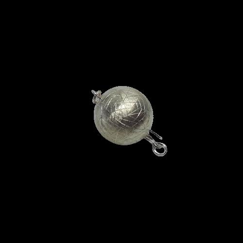 Silverlås boll 14 mm