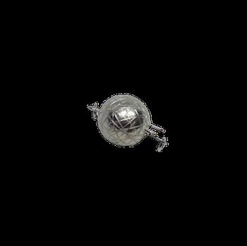 Silverlås boll 10 mm