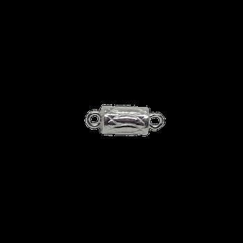 Silver magnetlås 6x11 mm