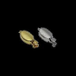 Silverlås 9x12 mm