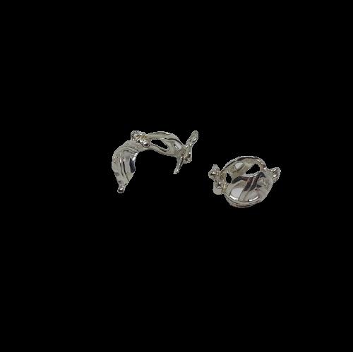 Litet korglås i silver