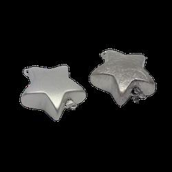 Silverlås stor stjärna 20 mm