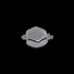 Silverlås Hexagon 18 mm
