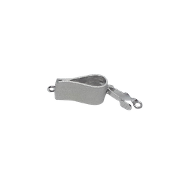 Silverlås vikt rektangel 15x8 mm