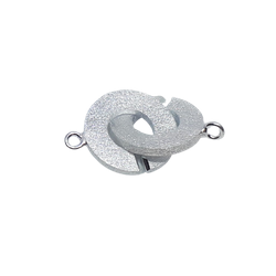 Silverlås cirkel 20 mm