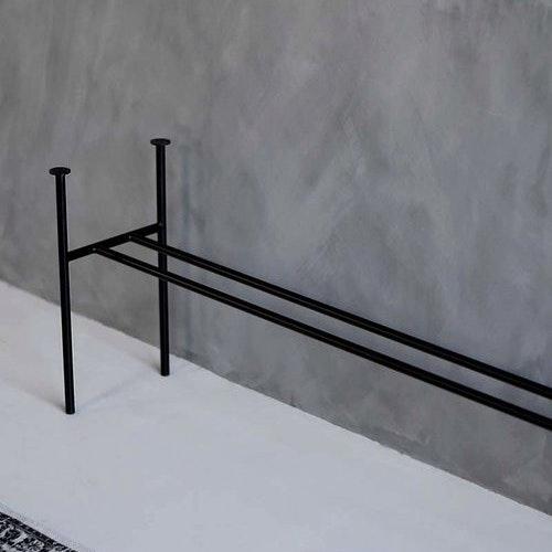 Lemus Artistic steel frame.