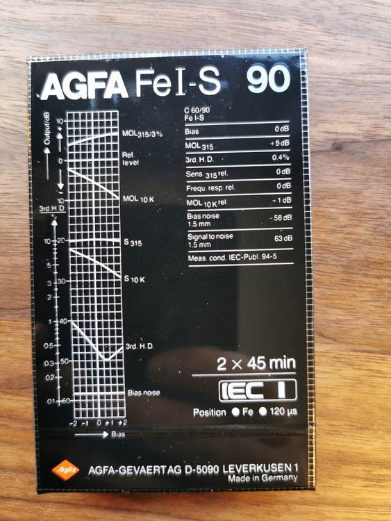 10 pack AGFA Fei-S   Superferro HDX 90