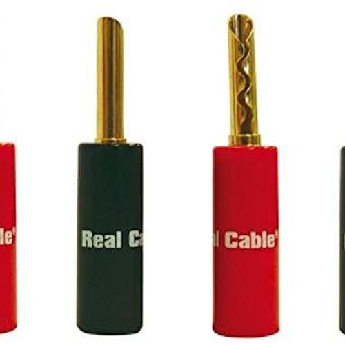 Real Cable BFA6020 banan 4 pack.