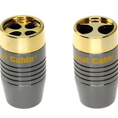 Splitter REP2160 för att snyggt dela på högtalarkabeln.