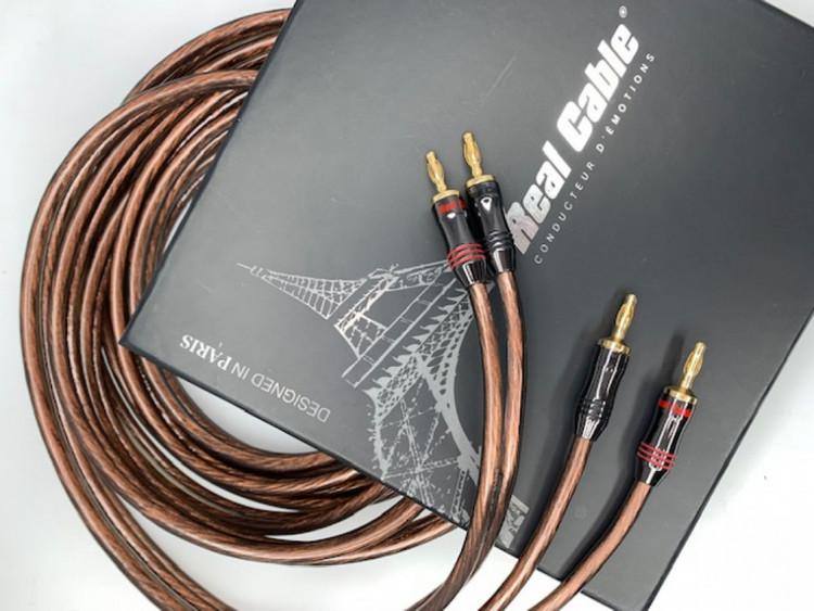 Real Cable Elite 3mm högtalarkabel 2x3 meter