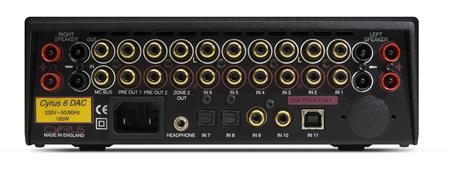 Cyrus Audio 6 QXR Dac integrerad förstärkare