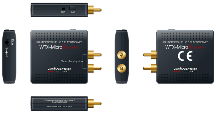 Advance Acoustic WTX-Microstreamer